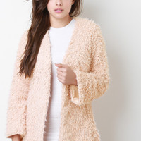 Faux Fur Texture Coat