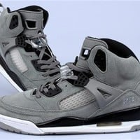 Cheap Air Jordan 3.5 Spizike Suede Men Shoes Wolf Grey