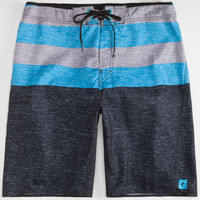 Rip Curl The Crew Mens Boardshorts Black/Blue  In Sizes