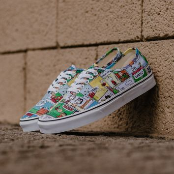 spbest Vans x Peanuts Authentic 'Comics' VA38EMQQ2