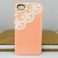 Lace Style iPhone case iPhone 4 case iPhone 4s case iPhone cover Multiple color choices Listing Stats Listing Stats