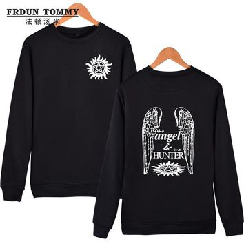 New Brand Sweatshirt Supernatural Hoodies Women Black Color Cool And Fashion Clothes Men Hoodies XXXL