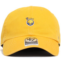Golden State Warriors Abate Clean Up Unstructured Strapback Hat Yellow