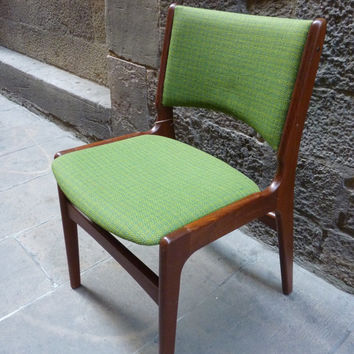 Set of four dining Scandinavian design chairs from the 60's