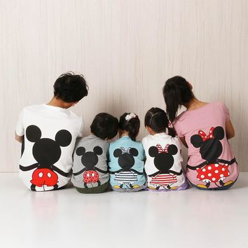 Mickey Minnie Matching Family Vacation Shirts