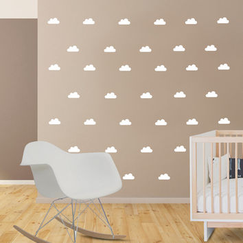 Nursery Wall Decal Confetti Wall Decal From Rocky Mountain Decals - Nursery wall decals clouds