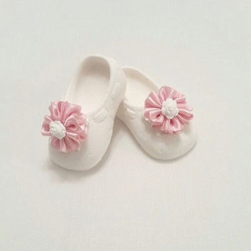 Baby shoes , Scented stone baby girl shoes , Baby shower favors, Party favor, Birthday gifts , Baby room decoration