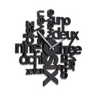 Lingua Wall Clock by Umbra®