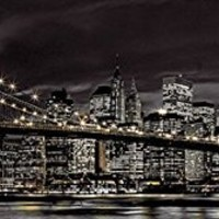 Assaf Frank New York City at Night Decorative Travel Photography Art Print Poster 21 by 62