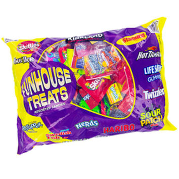 Funhouse Treats Assorted Candy Mix: 175-Piece Bag
