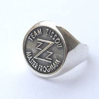 Team Zissou Master Frogman Silver Ring The Life Aquatic With Steve Zissou