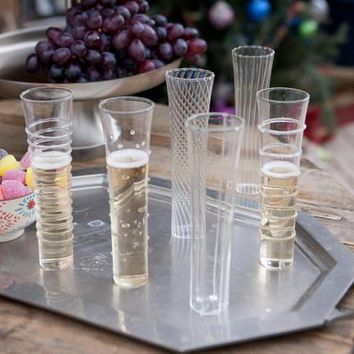 Starlight Champagne Flutes, Set Of 6                    | Robert Redford's Sundance Catalog