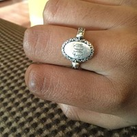 Secret Message Ring | James Avery