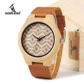 New Arrival 2015 Pretty Wood Wristwatches Japan Majoy Movement Clock Men's Fashion Brand Designer Bamboo Wooden Watches