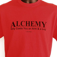 Fullmetal Alchemist Anime TShirt Alchemy Only Costs by naniwear