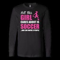 Soccer Is My Life Long Sleeve T Shirt - TL00670LS