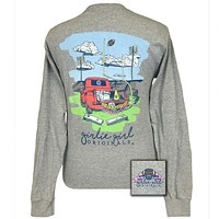 Girlie Girl Originals Southern Tailgates and Touchdowns Long Sleeve T-Shirt