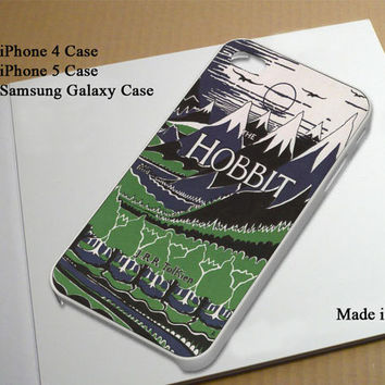 The Hobbit inspired Best Seller Phone Case on Etsy for iPhone 4, iPhone 4s, iPhone 5 , Samsung Galaxy s3 and Samsung Galaxy s4