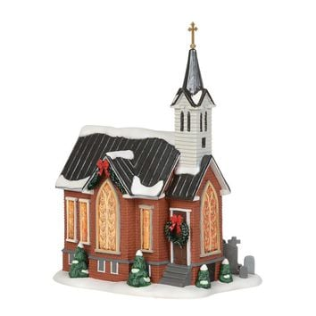 Dept. 56 Licensed by Jim Shore New England Village Grace Church – 6003098