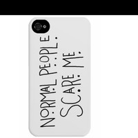 "American Horror Story ""Normal People Scare Me"" Phone Case"