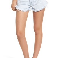 One Teaspoon Brando Frayed Hem Denim Shorts | Nordstrom