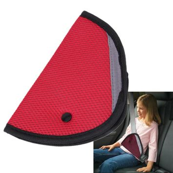 Triangle Child Car Safety Belt Holder Child Resistant seat cover Protector Shave Baby Adjuster Car Seat Belt Extender Car pillow