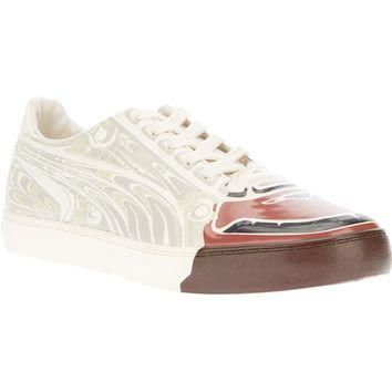 Puma By Hussein Chalayan Printed Lace-Up Trainer