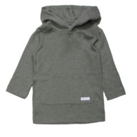 Superism - Boys Khalil Hooded Pullover in Olive