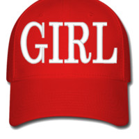 GIRL design Bucket Hat - Flexfit Baseball Cap