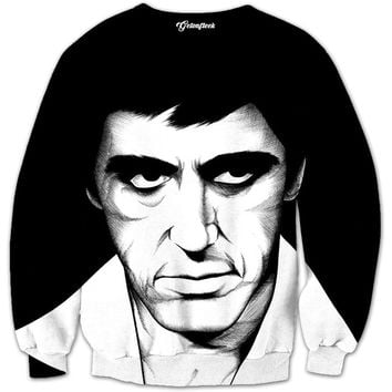 Scarface Sketch Crewneck
