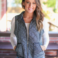 Hit the Trails Vest - Black
