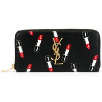Saint Laurent 'monogram' Wallet - Restir - Farfetch.com