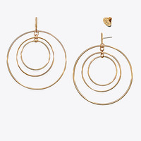Tory Burch Wire Hoop Earring