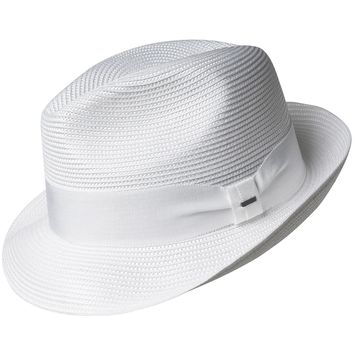 "Bailey ""Craig"" Center Dent Straw Fedora"