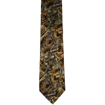 Bogota Fashion Tie Rack Novelty Wide Silk Tie - Multicolor