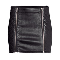 Quilted Skirt - from H&M