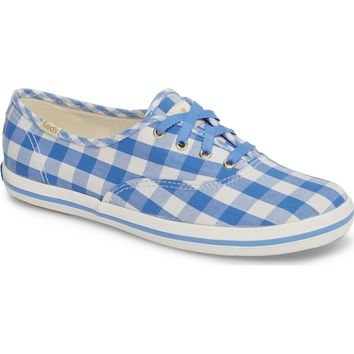 Keds® for kate spade new york champion gingham sneaker (Women) | Nordstrom