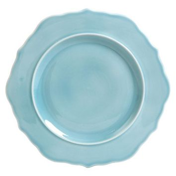 Threshold™ Wellsbridge Semi-Porcelain Dinner Plate - Aqua