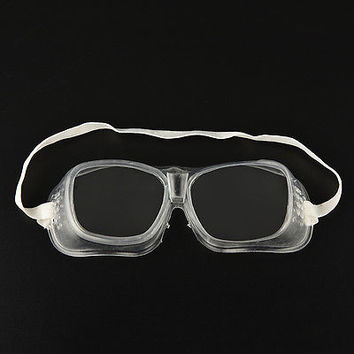 Eye Protection Lab Anti Fog Clear Goggles Glasses Vented Safety HUUS