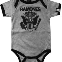 Sourpuss Grey Ramones One Piece Kids Clothing One Pieces at Broken Cherry