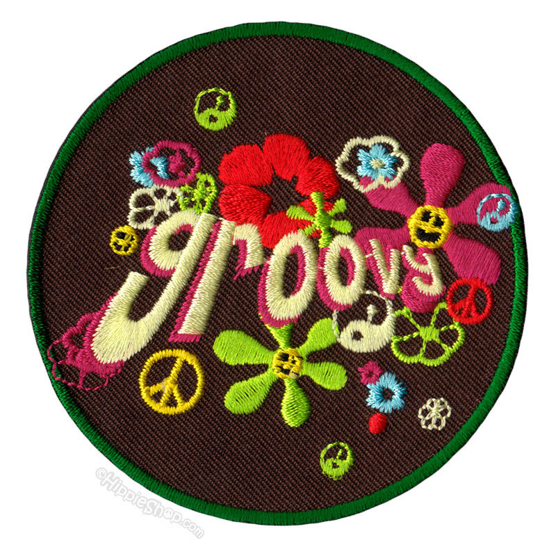 Groovy patch on sale for at from hippie shop - App that puts santa in your living room ...