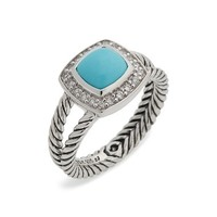 David Yurman Petite Albion Ring with Semiprecious Stone & Diamonds | Nordstrom