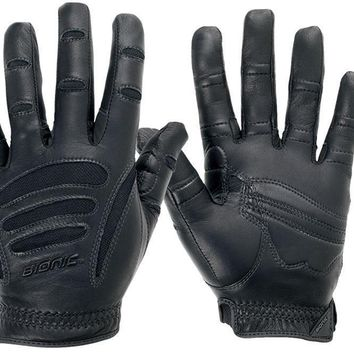 Bionic Driving Gloves Black Mens 1 Pair Driving Gloves FREE SHIPPING!