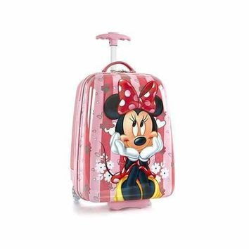 Disney Minnie Mouse Rolling Luggage Case - 2 Wheels