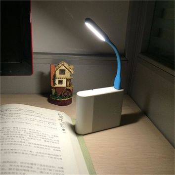 Mini Flexible USB Led Light Table Lamp Gadgets usb hand lamp For Power bank PC laptop notebook