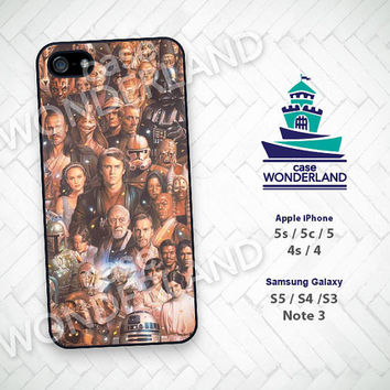 iPhone Case, Star Wars, Obi Wan, Han Solo, iPhone 5 case, iPhone 5C Case, iPhone 5S case, iPhone 4 Case, iPhone 4S Case, Skin, STW13