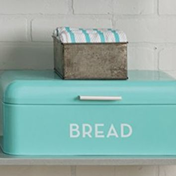 Now designs bread bin turquoise blue from amazon apartment for Turquoise bathroom bin