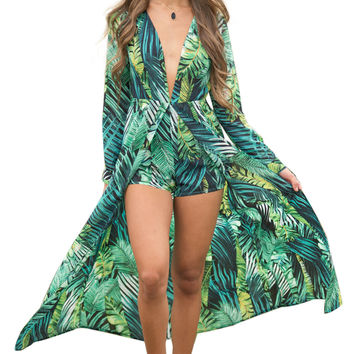 Jungle Adventures Maxi Romper LAVELIQ