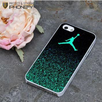 DCKL9 Nike Air Jordan Jump Mint Glitter iPhone 5|5S Case|iPhonefy