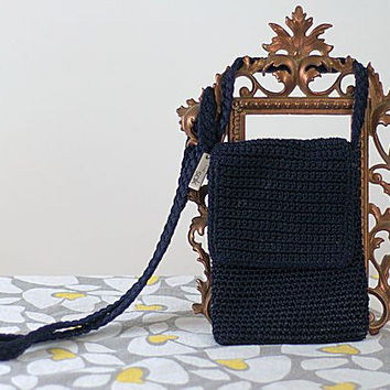 Retro Saks Fifth Ave. Crochet Purse